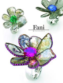 Итальянские ювелирные украшения Fani в магазине Александр