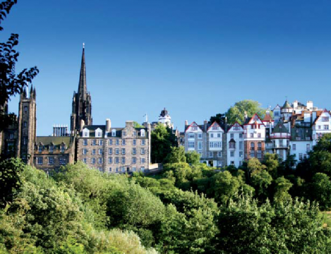 Шотландия, города, Эдинбург, журнал Top Style