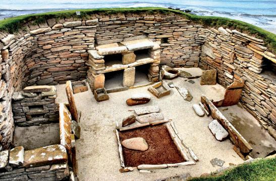 Раскопки, древние жилища