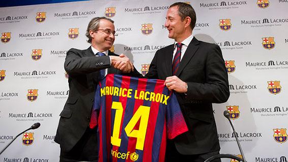FC Barcelona & Maurice Lacroix